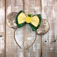 Pineapple Minnie Ears