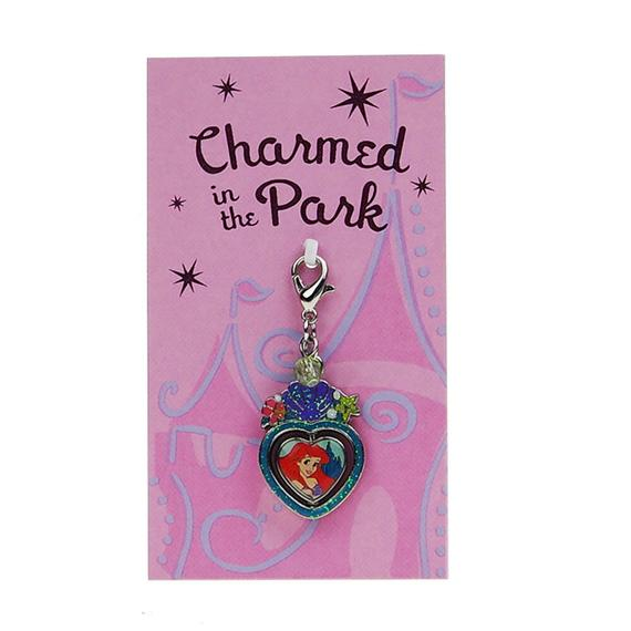 Disney Parks Charmed In The Park Spinner Charm Ariel & Ursula The Little Mermaid