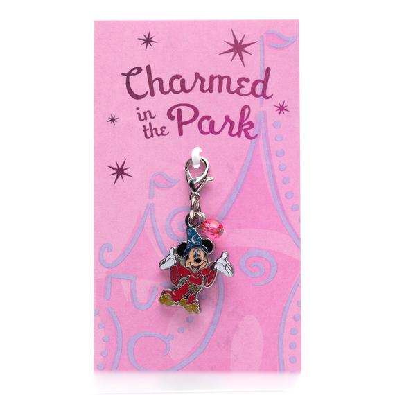 Disney Parks Charmed In The Park Sorcerer Mickey Dangle Charm