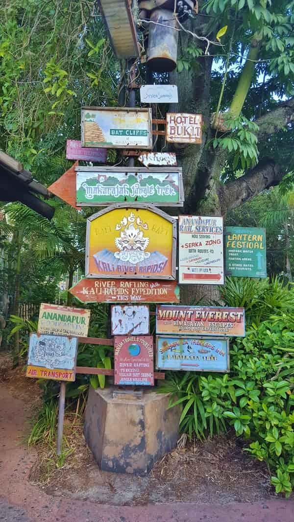 Asia Signage in Animal Kingdom