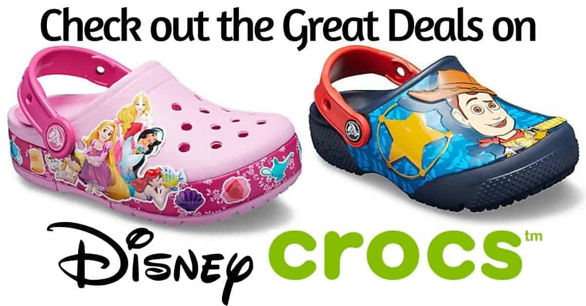 Great Deals on Disney Crocs