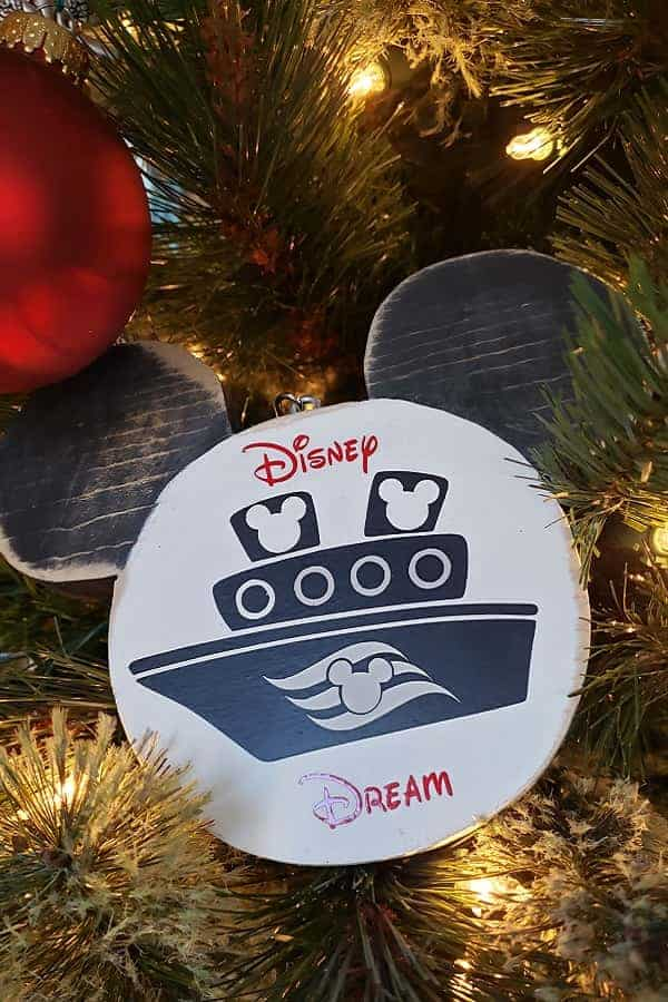 Disney Cruise handmade Ornament