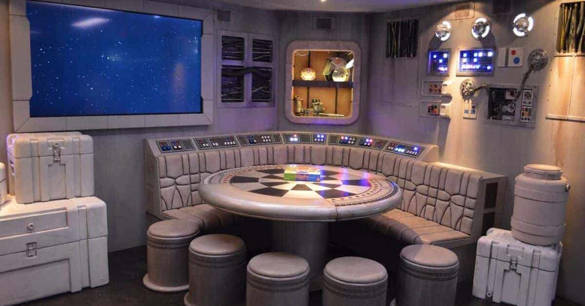 Star Wars Space on Disney Dream