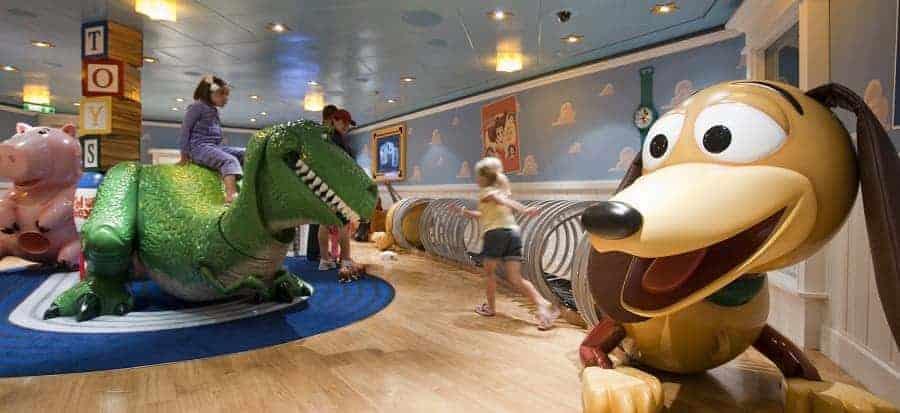 Disney Fantasy Ship Andy's Room