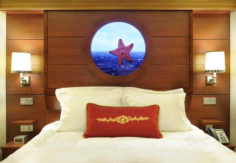 Disney Port Hole Room