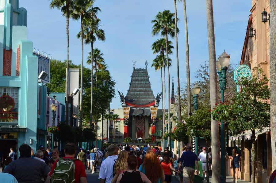 Hollywood Boulevard in Disney World