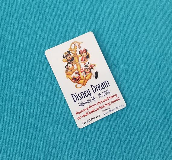 Disney Cruise Light Card