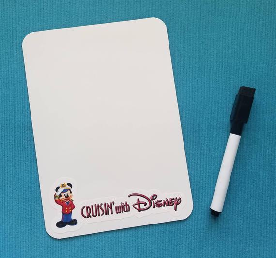 Disney Cruise White Board