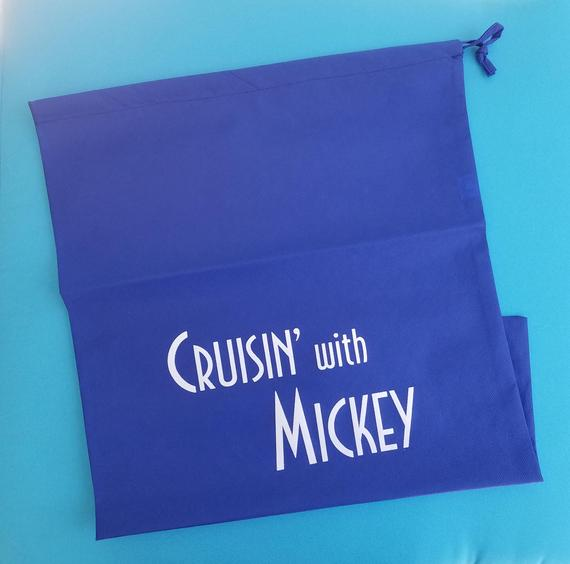Disney Cruise Laundry Bag