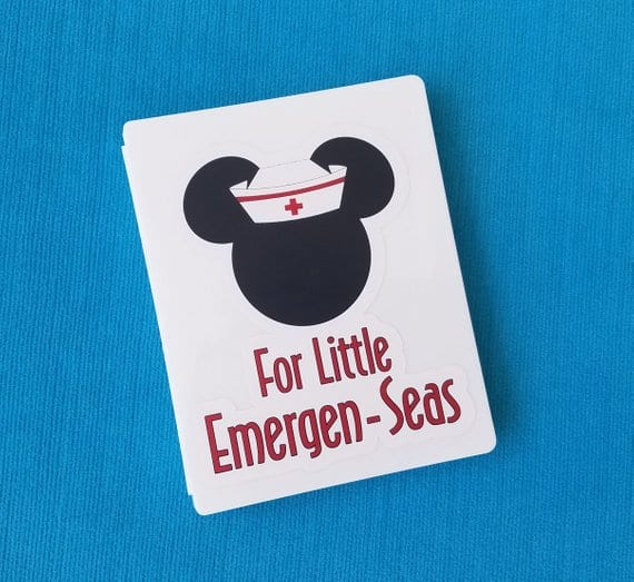 Disney Cruise First Aid Kit