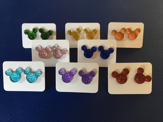 Mickey Earrings
