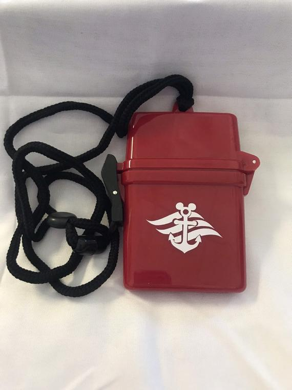 Disney Cruise Waterproof Container