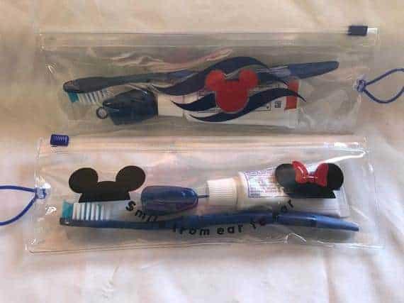 Disney Toothbrush Travel Kit