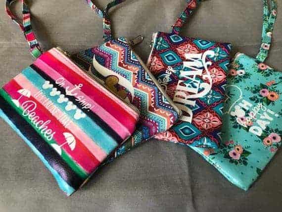 Disney Wristlet Bags
