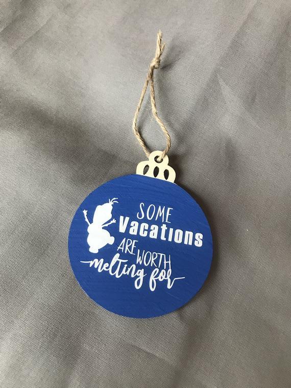 Disney Frozen Christmas Ornament