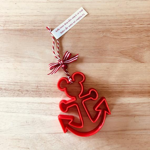 DCL Mickey Anchor Cookie-Cutter