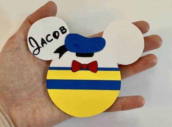 Donald Duck Inspired Magnet