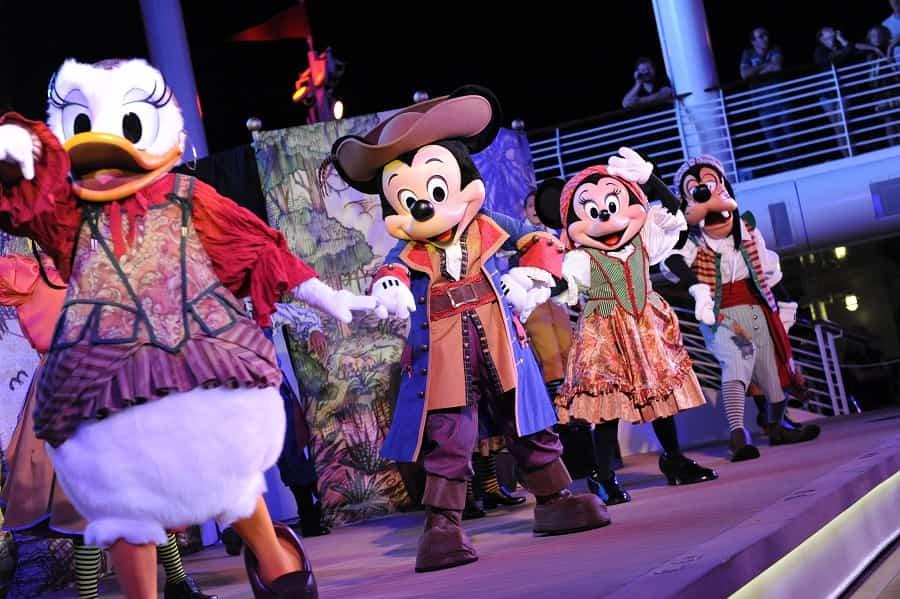 Pirate Night on Disney Fantasy