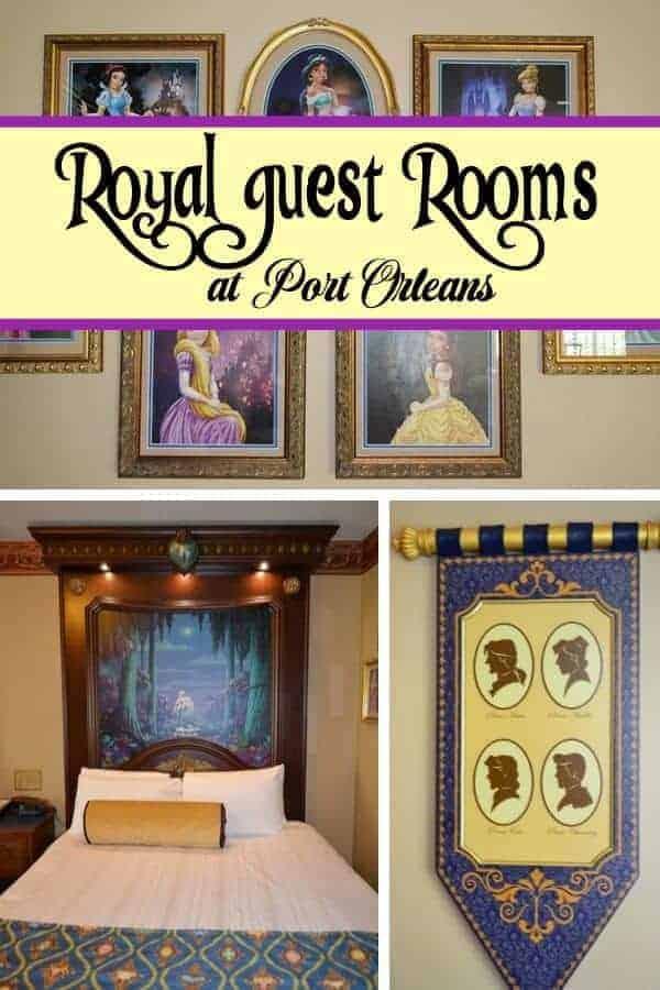 Disney Port Orleans Royal Guest Rooms