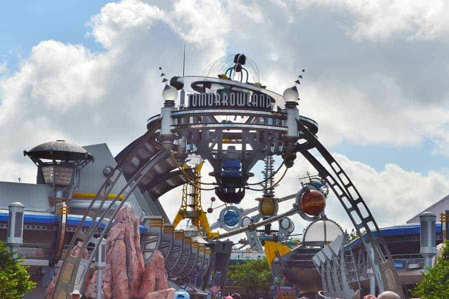 Tomorrowland in Magic Kingdom