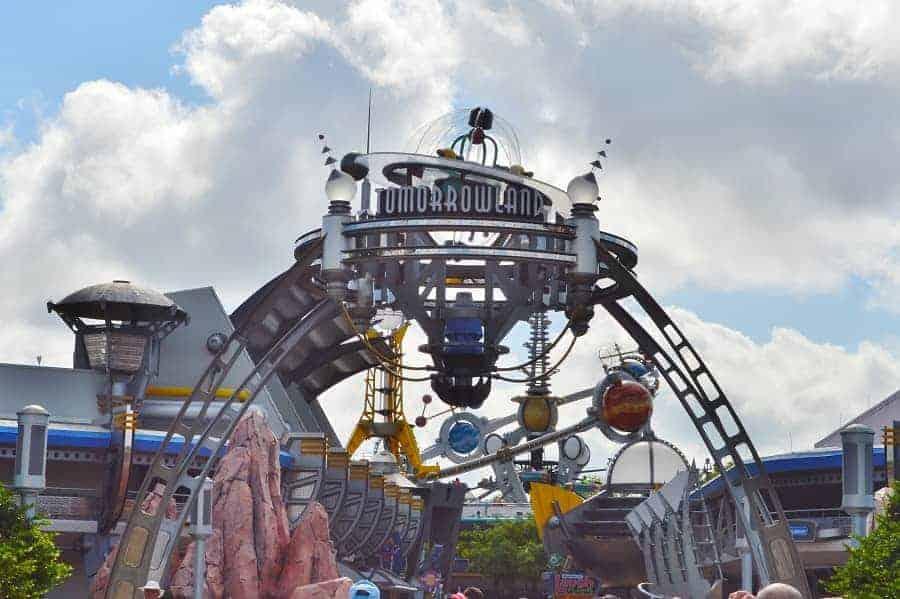 Tomorrowland in Magic Kingdom