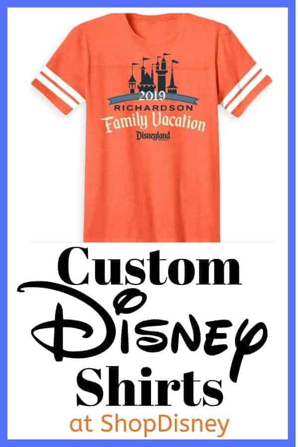 Custom Disney Shirts from ShopDisney