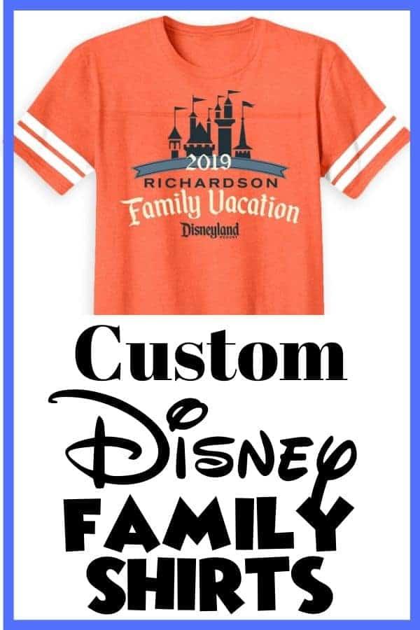 Custom Disney Family Shirts