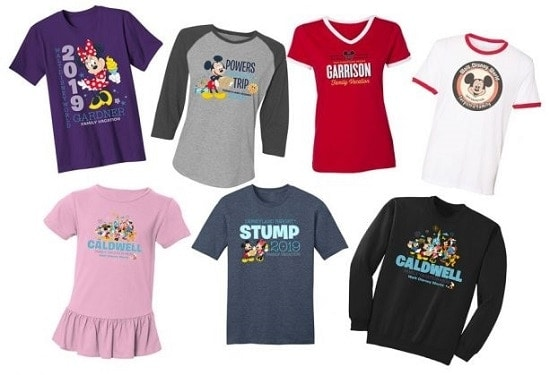 Disney Custom Shirts