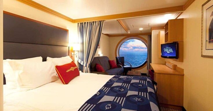 Types of Disney Cruise Line Staterooms