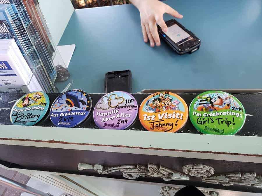 Disneyland Celebration Pins
