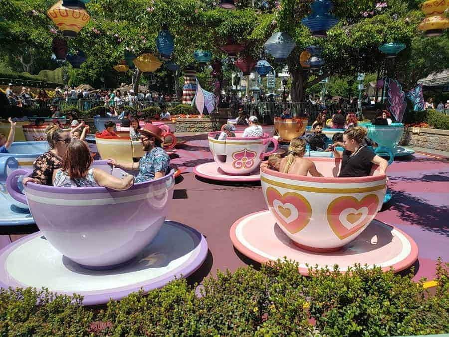 Disneyland Tea Cups