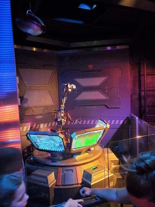 Star Tour in Disneyland