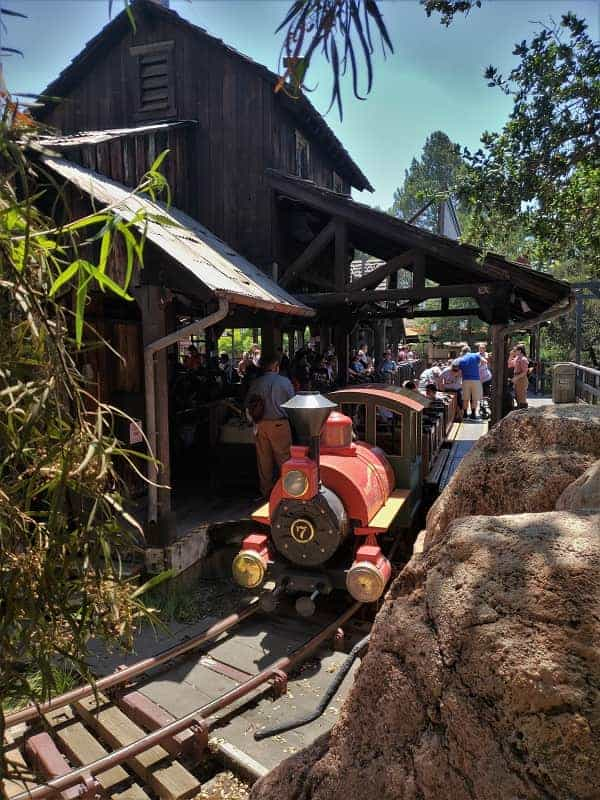 Thunder Mountain Railroad Disneyland