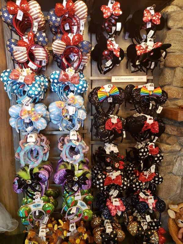 Minnie Ears at Disneyland