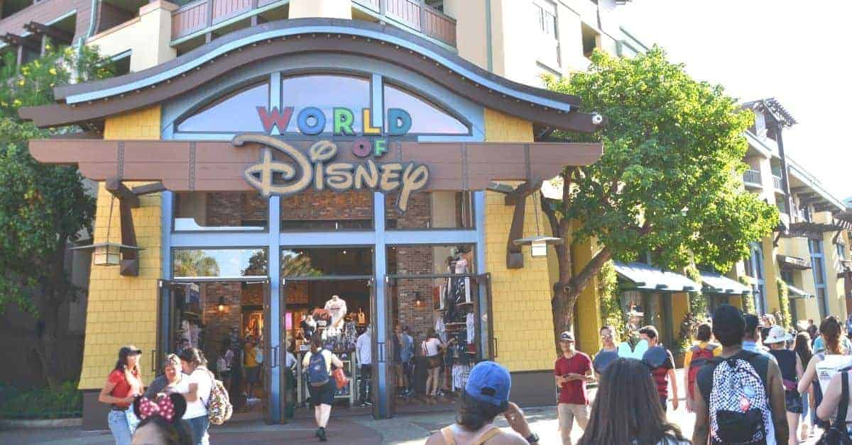 Stores in Downtown Disneyland