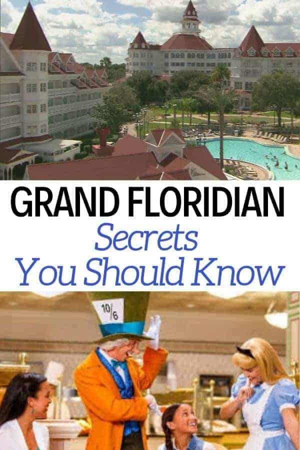 9 Grand Floridian Secrets You Should Know