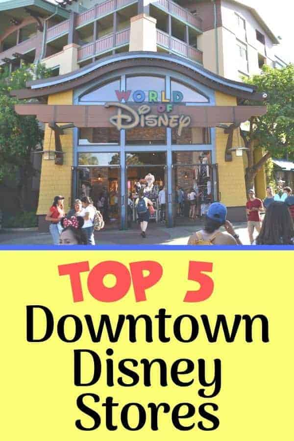 Top Downtown Disney Stores