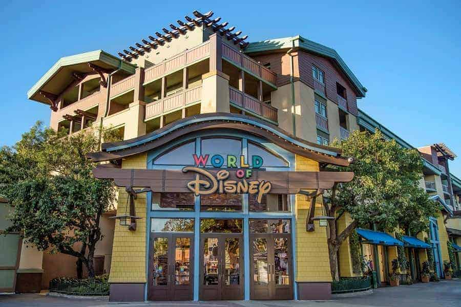 World of Disney Store in Downtown Disney