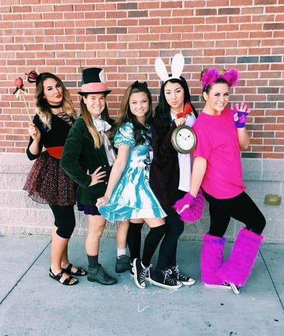 Alice in Wonderland Disney Halloween Costumes