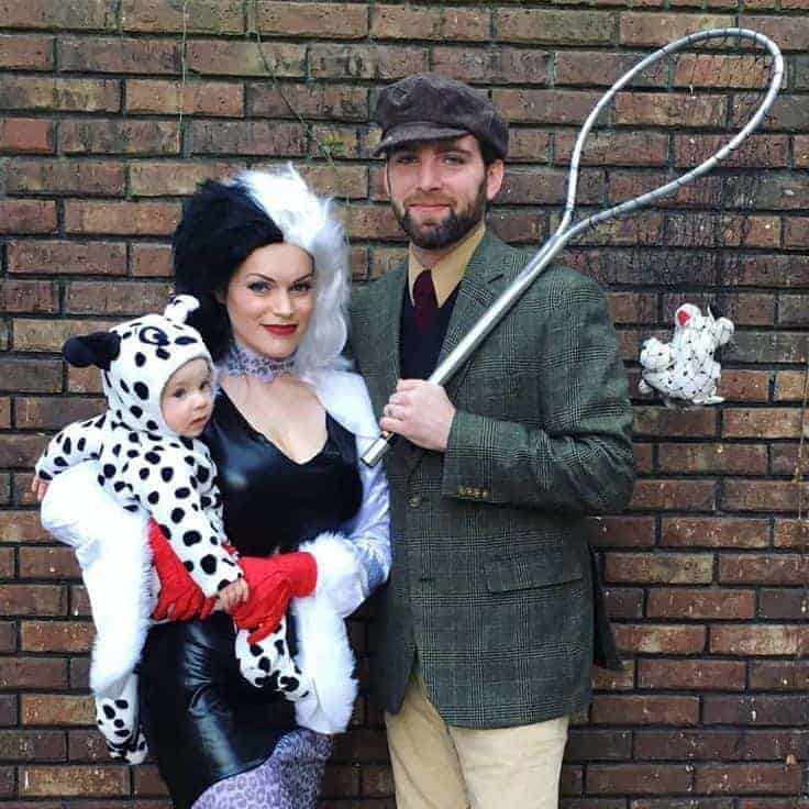 101 Dalmations Halloween Costume for Family