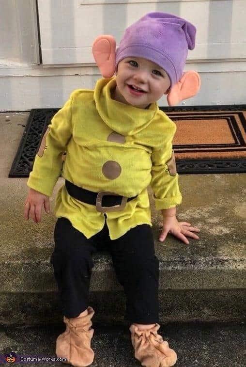 Dopey Kids Costume
