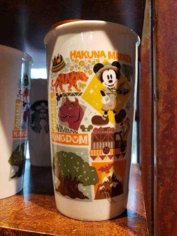 Animal Kingdom Starbucks Travel Mug