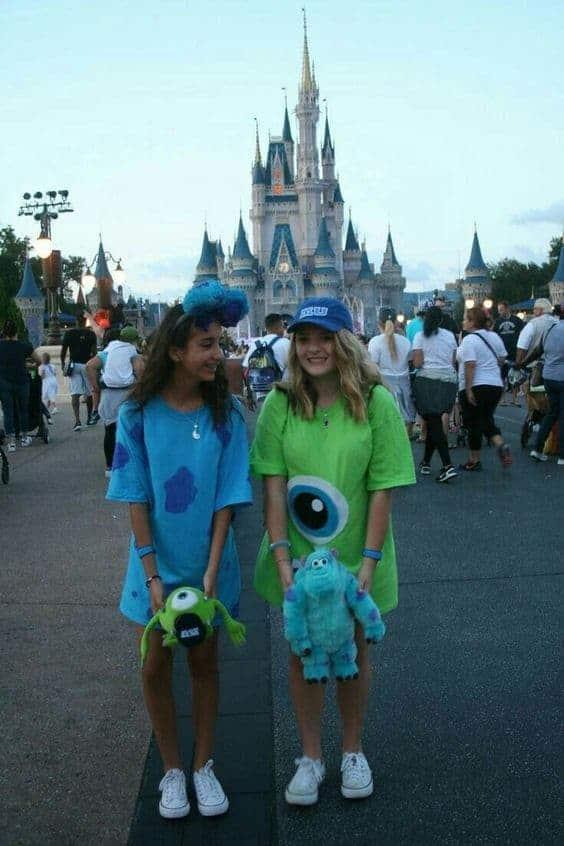 Monsters Inc Disney Halloween Costume Idea