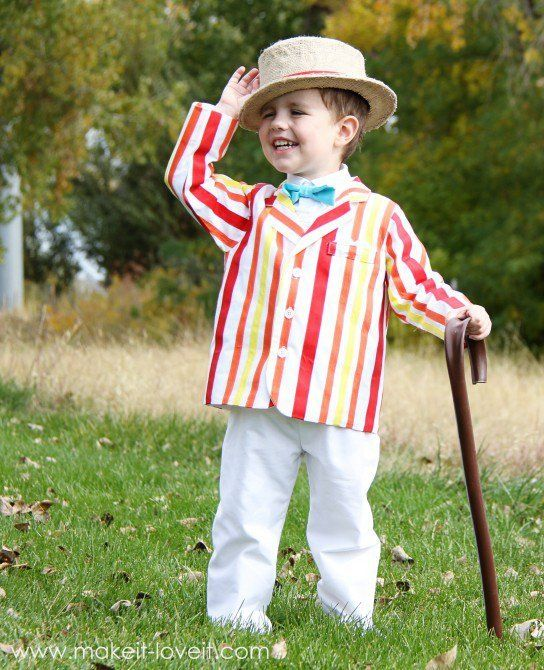 Bert (from Mary Poppins) Costume for Boy