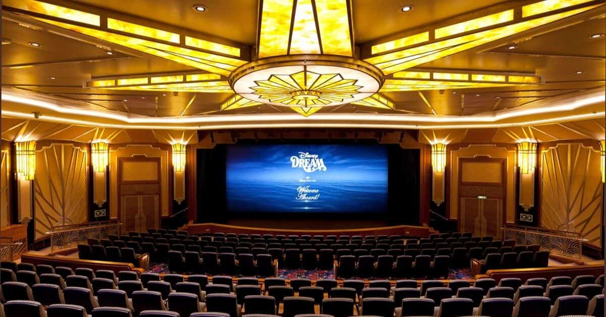 Disney Cruise Movie Theater