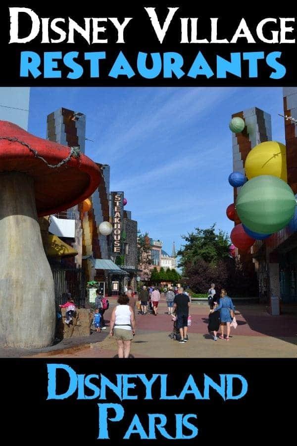 Disney Village Restaurants