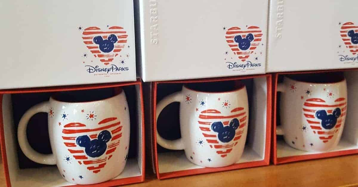 Disney Merchandise at Starbucks
