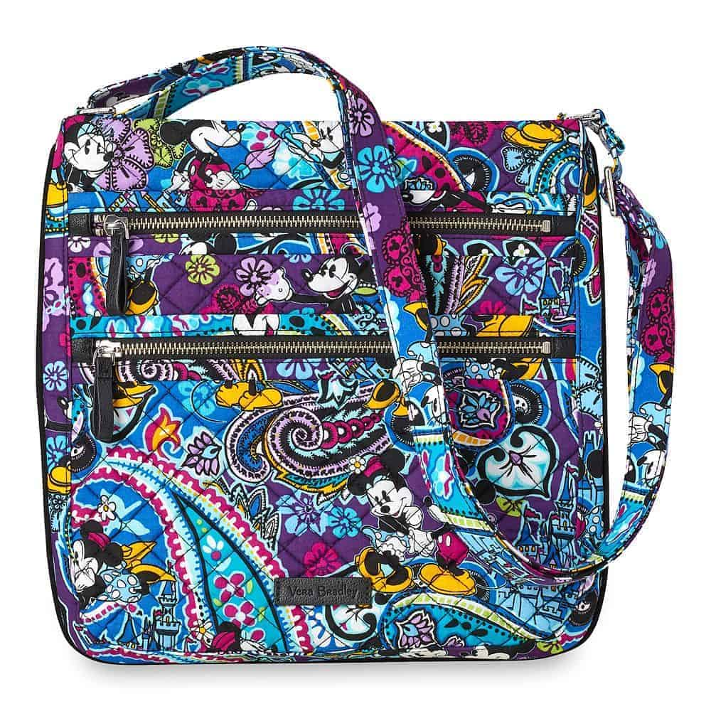 Mickey and Minnie Mouse Paisley Hipster Bag