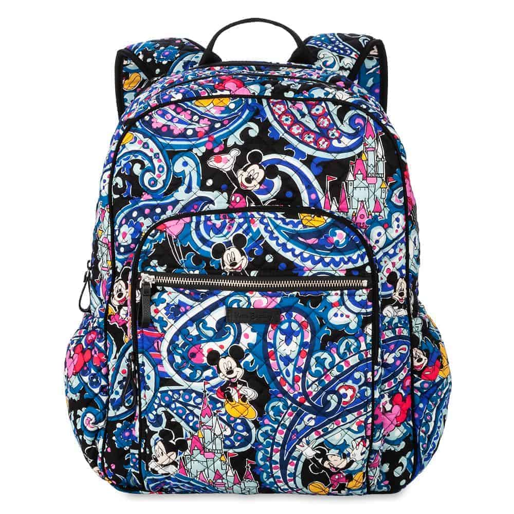 Mickey Mouse Whimsical Paisley Campus Backpack