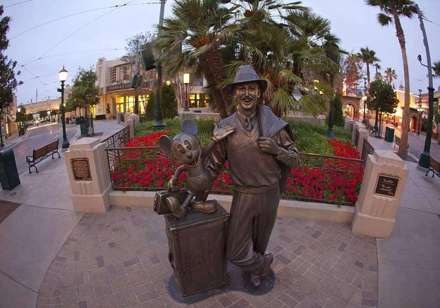 Buena Vista Street Disneyland California